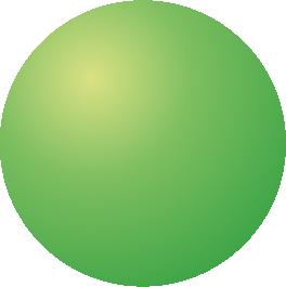 zelená koule